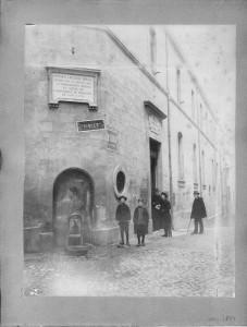 Ancienne école de Pharmacie 1854